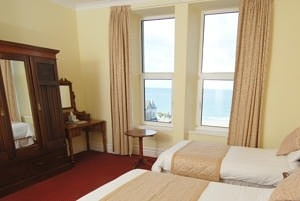 HOTEL VICTORIA Newquay Twin Sea View
