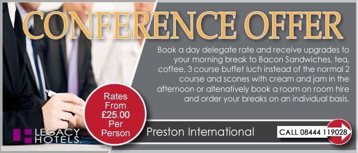 PRESTON INTERNATIONAL HOTEL Preston Conference